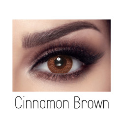 Bella Elite Contact Lenses - Cinnamon Brown - Monthly
