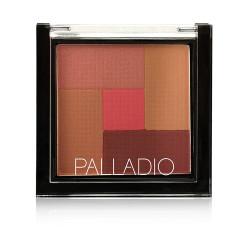 Palladio 2-In-1 Mosaic Powder Blush & Bronzer - N 04 - Pink Truffle