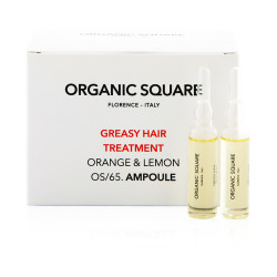 Organic Square Greasy Hair Treatment - 6 ml