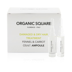 Organic Square Damaged And Dry Hair Treatment - 6 ml