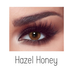 Bella Elite Contact Lenses - Hazel Honey - One Day