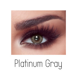 Bella Elite Contact Lenses - Platinum Grey - One Day