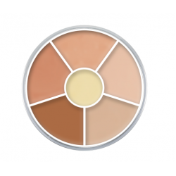 Kryolan Cream Color Circle - N 7W - Natural