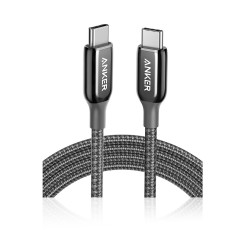 Anker PowerLine + III USB-C to USB-C Cable - 1.8 Meters - Black