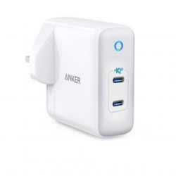Anker PowerPort III 2-Port Type-C PIQ 3.0 Wall Charger 36W - White
