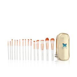 Ltayef Beauty Makeup Brush Set - 15 Pcs