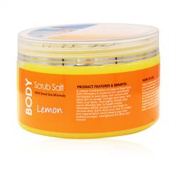 Fouf Dead Sea Body Scrub Salt Lemon - 300g