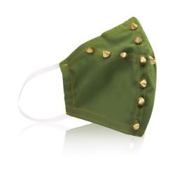 Aya Face Mask - Green Stud