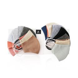 Sarah Al Saleh Fabric Fashion Medium Face Mask - Easy To Go Box