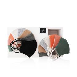 Sarah Al Saleh Fabric Fashion Small Face Mask - Easy To Go Box