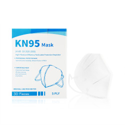 KN 95 GB 2626-2006 5 PLY Protective Face Mask Pack Of 30 Pcs