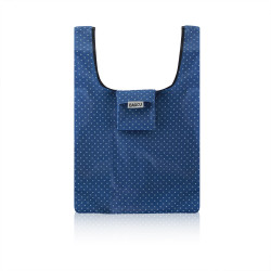 Recycle Shopping bag  - Blue With Dot Style