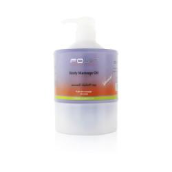 Fouf Body Massage Oil Essential Oils & Vitamin E - Lavender - 1000 ml