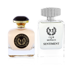 Club De Monaco Jasmin Noir Eau De Perfume - 100 ml + Club De Monaco Sentiment Eau De Perfume 100 ml - Fragrance Set - Unisex