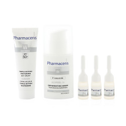 Pharmaceris Triple Action Program for Whitening and Lightening for Sensitive Area, Knee, Elbow and Hands