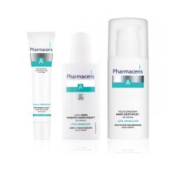 Pharmaceris Complete Program for Sensitive Skin - Moisturizing , Nourishment And Relief Redness And Irritation