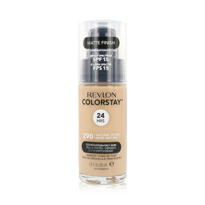 Revlon Color Stay Foundation oily and combination - N 290 - Natural Ocher