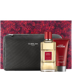 Guerlain Habit Rouge Eau De Toilette for Men - 100 ml - Fragrance Gift Set
