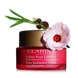 Clarins Rose Radiance Super Restorative Face Cream - 50 ml