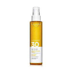Clarins Suncare Body And Hair Oil Mist With SPF 30 - 150 ml