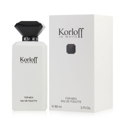 Korloff In White Eau de Toilette For Men - 88ml