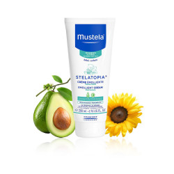Mustela Stelatopia Kids Emollient Cream - 200 ml