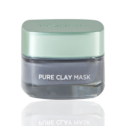 Loreal Paris Pure Clay Black Mask With Charcoal - 50 ml