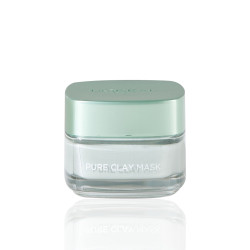 Loreal Paris Pure Clay Green Mask With Eucalyptus For Purifies And Mattifies - 50 ml