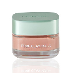 Loreal Paris Pure Clay Red Mask With Red Algae For Exfoliates And Brightens Pores - 50 ml