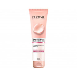 Loreal Paris Rare Flowers Cleansing Gel Cream For Dry And Sensitive Skin -150 ml