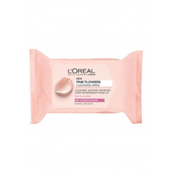 L'oreal Paris Rose And Jasmine Fine Flowers Cleansing Wipes