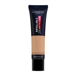 L'oreal Paris Infaillible Matte Cover Foundation - N  290 - Golden Amber - 30 ml