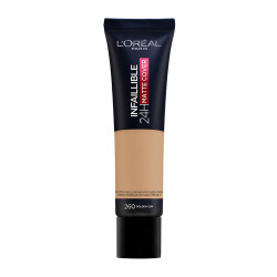 L'oreal Paris Infaillible Matte Cover Foundation - N  260 - Golden Sun - 30 ml