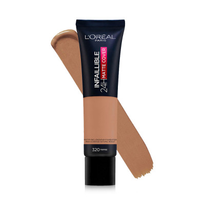 L'oreal Paris Infaillible 24H Matte Cover Foundation - N 320 - Caramel