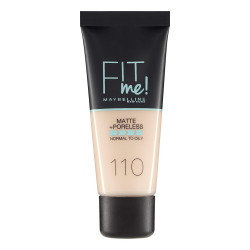 Maybelline Fit Me Matte + Poreless Foundation - N 110 - Porcelain