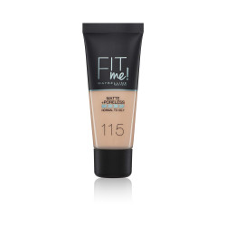 Maybelline Fit Me Matte + Poreless Foundation - N 115 - Ivory