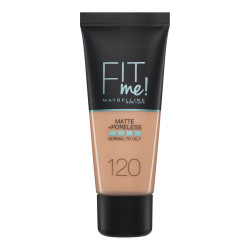 Maybelline Fit Me Matte + Poreless Foundation - N 120 - Classic Ivory
