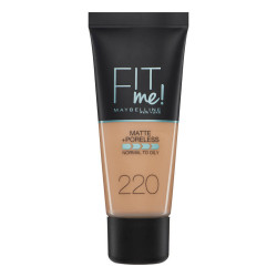 Maybelline Fit Me Matte + Poreless Foundation - N 220 - Natural Beige