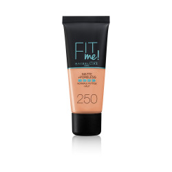 Maybelline Fit Me Matte + Poreless Foundation - N 250 - Sun Beige