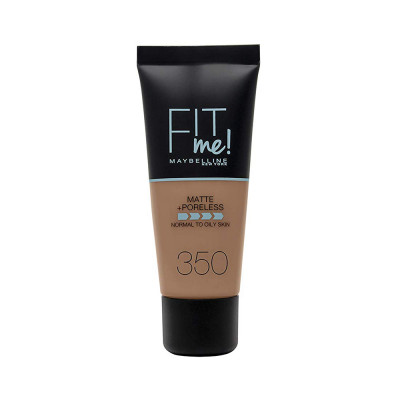 Maybelline Fit Me Matte + Poreless Foundation - N 350 - Caramel