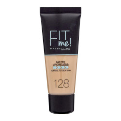 Maybelline Fit Me Matte + Poreless Foundation - N 128 - Warm Nude