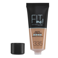 Maybelline Fit Me Matte + Poreless Foundation - N 335 - Classic Tan