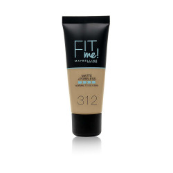 Maybelline Fit Me Matte + Poreless Foundation - N 312 - Golden