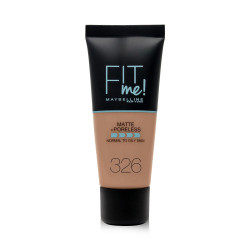 Maybelline Fit Me Matte + Poreless Foundation - N 326 - Perfect Beige