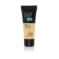 Maybelline Fit Me Matte & Poreless Foundation - N 190 - Golden Natural