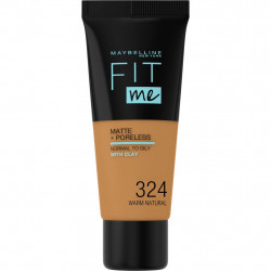 Maybelline Fit Me Matte & Poreless Foundation - N 324 - Warm Natural
