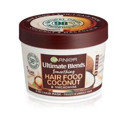 Garnier Ultra Doux 3 In 1 Hair Food Coconut & Macadamia - 390 ml
