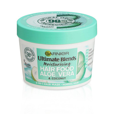 Garnier Ultra Doux 3 In 1 Hair Food Aloe vera & Coconut - 390 ml
