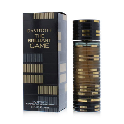 Davidoff The Brilliant Game Eau De Toilette for Men - 100 ml