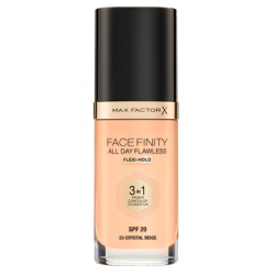 Max Factor Facefinity All Day Flawless 3-In-1 Foundation -N 33 - Crystal Beige